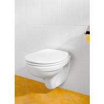 Seinä-WC paketti Omnia Classic, kromipainike, kova kansi