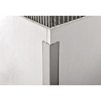 Kulmasuojalista, rst kiillotettu, tarrakiinnitys, 20x20mm, 2,7m