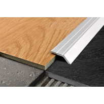 Eritasolista Progress Profiles Proleval 32, tarrakiinnitys, 7-9mm, 32mm, 0,90m, hopea-anodisoitu alumiini