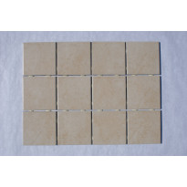 Keraaminen laatta Bien Ground Dot 10x10, lattialaatta, beige