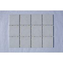 Keraaminen laatta Bien Diamond Dot 10x10, lattialaatta, valkoinen