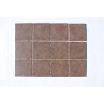 Keraaminen laatta Bien Diamond Dot 10x10, lattialaatta, ruskea