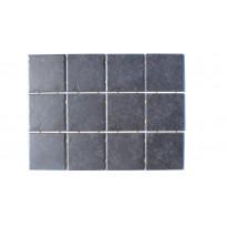 Keraaminen laatta Bien Diamond Dot 10x10, lattialaatta, musta