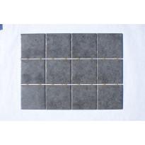 Keraaminen laatta Bien Diamond Dot 10x10, lattialaatta, tumman harmaa