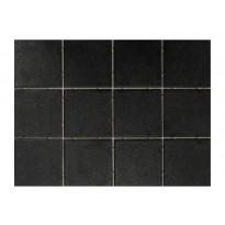 Keraaminen laatta Bien Tundra Dot 10x10, lattialaatta, musta, myyntierä 10,08m², Verkkokaupan poistotuote