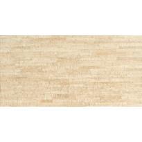 Keraaminen kuivapuristettu lattialaatta Bambu, 30x60cm, beige tai musta
