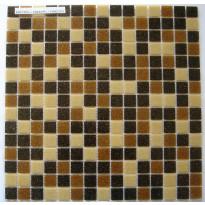 Lasimosaiikki Caramel, 32,7x32,7, seinä-/lattialaatta