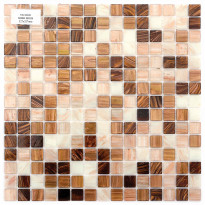 Lasimosaiikki Irish Moss, 32,7x32,7, seinä-/lattialaatta