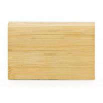 Massiivijalkalista Bambu, vaalea, horisontaalinen pintakuvio, mattalakattu, 6kpl