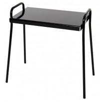 Pöytä Tuuli, 50x30x51cm, teräs, eri värivaihtoehtoja