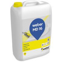 Pohjustusaine Weber MD 16 lattiatasoitteille, 10 l