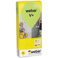 Hienotasoite Weber Vetonit V+, 20 kg