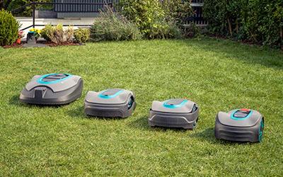 Gardena-robottileikkurit