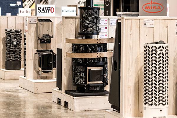 Ideapark Showroom - Sauna