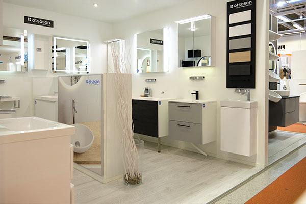 Tammisto Showroom - Kylpyhuone